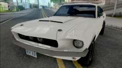Ford Mustang Shelby GT500 1967 White