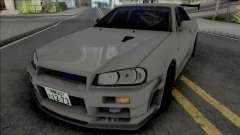 Nissan Skyline GT-R R34 JP