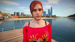 Claire Redfield Homewear pour GTA San Andreas