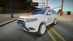 Mitsubishi Outlander - Patrouille de police ukra