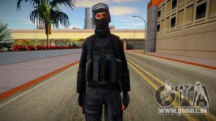 New SWAT (good textures) pour GTA San Andreas