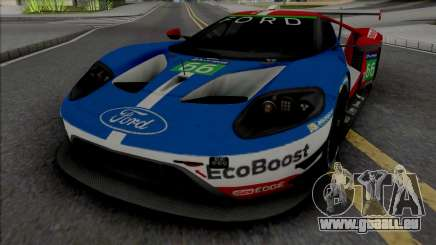 Ford GT Le Mans 2016-2019 pour GTA San Andreas