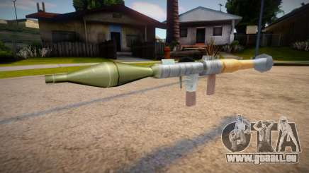 New textures for the rocket launcher pour GTA San Andreas