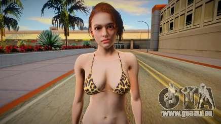 RE3 Remake Jill Valentime Bikini v3 pour GTA San Andreas