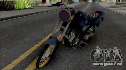 Yamaha Vixion Old Herex für GTA San Andreas