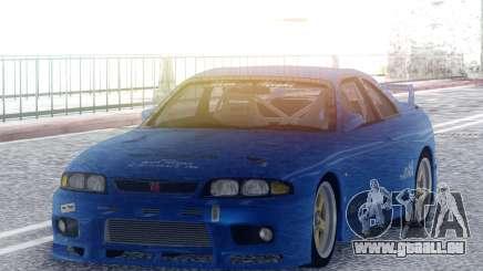 Nissan Skyline GT-R BCNR33 TBK pour GTA San Andreas