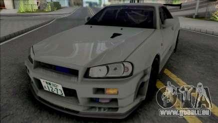 Nissan Skyline GT-R R34 JP pour GTA San Andreas
