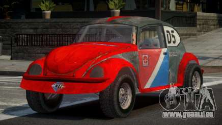 Volkswagen Beetle Prototype from FlatOut PJ4 pour GTA 4