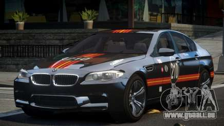 BMW M5 F10 PSI-R S9 pour GTA 4
