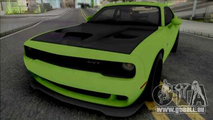 Dodge Challenger SRT Hellcat [Fixed] pour GTA San Andreas