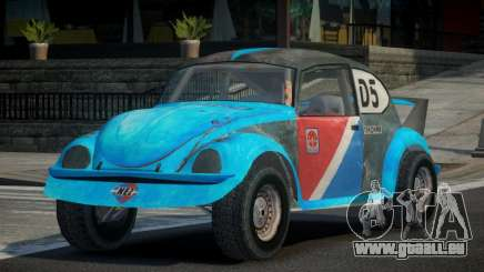 Volkswagen Beetle Prototype from FlatOut PJ2 pour GTA 4
