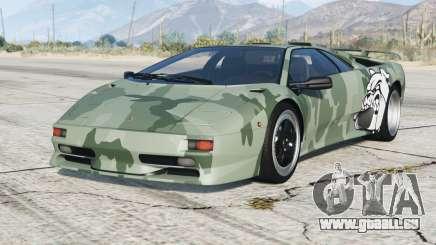 Lamborghini Diablo SV 1997〡PJ9 add-on pour GTA 5