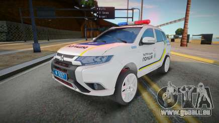 Mitsubishi Outlander - Patrouille de police ukrainienne pour GTA San Andreas
