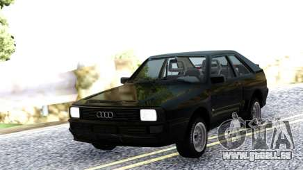 Audi Sport Quattro 1983 Black pour GTA San Andreas