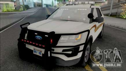 Ford Explorer 2017 Fayette County Sheriff pour GTA San Andreas