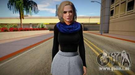 Christie Casual v2 (good skin) pour GTA San Andreas