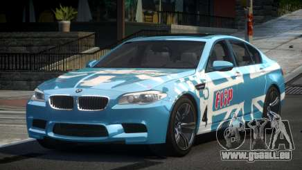 BMW M5 F10 PSI-R S5 pour GTA 4
