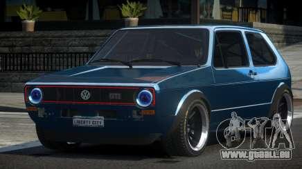 Volkswagen Golf SP-R pour GTA 4