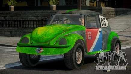 Volkswagen Beetle Prototype from FlatOut PJ3 pour GTA 4
