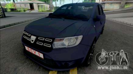 Dacia Logan Pope Edition für GTA San Andreas