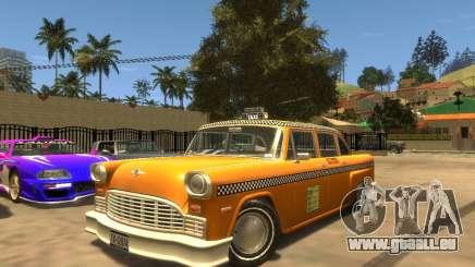 Cabbie SA pour GTA 4