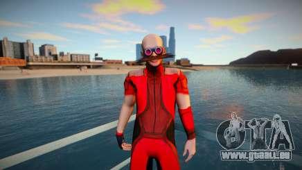 Dr Robotnik - Eggman v2 pour GTA San Andreas