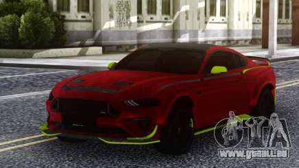 Ford Mustang RTR Spec5 2019 für GTA San Andreas