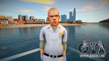 Jimmy Hopkins AsylumOrderly Costume pour GTA San Andreas