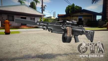 M249 (good textures) für GTA San Andreas
