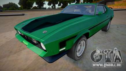 1971 Ford Mustang Mach 1 Richard Hammond pour GTA San Andreas