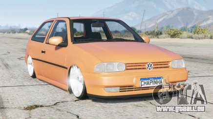 Volkswagen Gol Plus (G2) 1996〡lowered〡add-on pour GTA 5