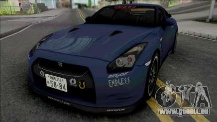 Nissan GT-R R35 MCR pour GTA San Andreas