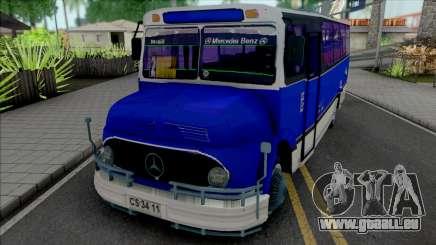 Mercedes-Benz LO 1113 Metalpar Ami 1980-1984 pour GTA San Andreas