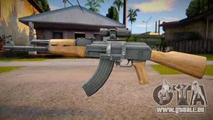 AK-47 Scoped pour GTA San Andreas
