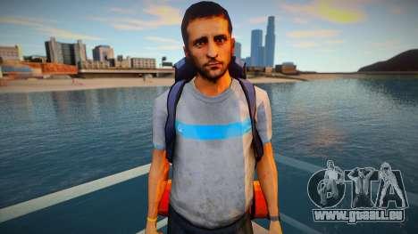 Touriste de peau pour GTA San Andreas