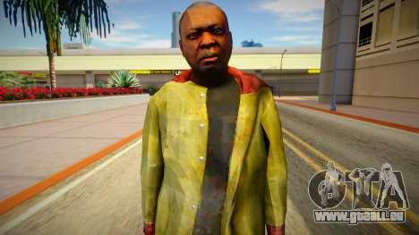 Homme sans-abri de GTA 5 v4 pour GTA San Andreas