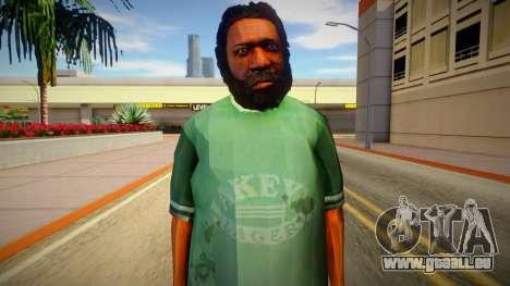 Homme sans-abri de GTA 5 v5 pour GTA San Andreas