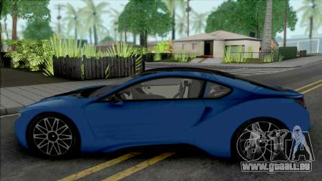 BMW i8 Coupe [HQ] pour GTA San Andreas