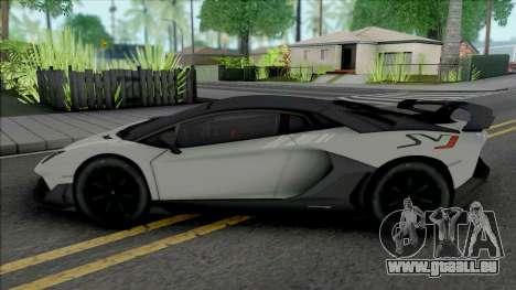 Lamborghini Aventador SVJ 2019 [HQ] pour GTA San Andreas
