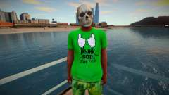 Nigga skull mask from GTA Online pour GTA San Andreas