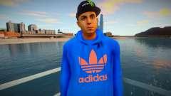 Latinos Adidas style pour GTA San Andreas
