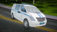 Hyundai H-1 Starex Polizei des russischen Innenm