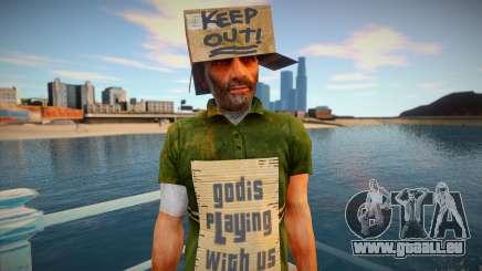 Mendiant sans-abri pour GTA San Andreas