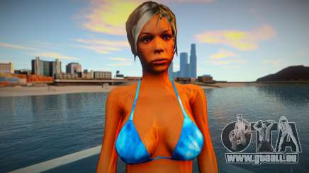 Fille dans un bikini pour GTA San Andreas