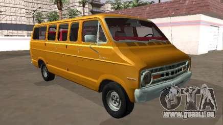 Dodge Sportsman B200 1972 Bus v2 pour GTA San Andreas
