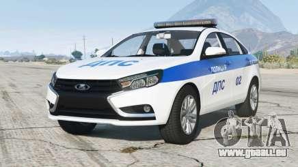 Lada Vesta (GFL) 2015〡DPS pour GTA 5