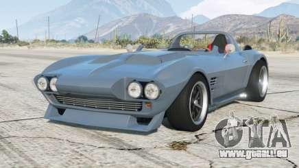 Chevrolet Corvette Grand Sport (C2) 1963〡Fast & Furious Edition〡add-on pour GTA 5