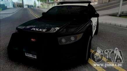 Vapid Torrence Police San Fierro für GTA San Andreas