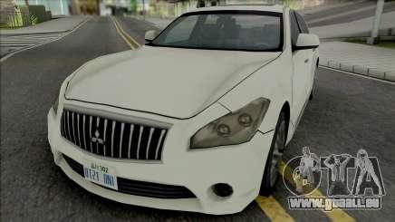 Mitsubishi Dignity 2012 (SA Style) pour GTA San Andreas