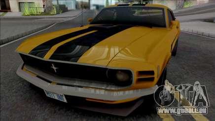 Ford Mustang Boss 302 1970 für GTA San Andreas